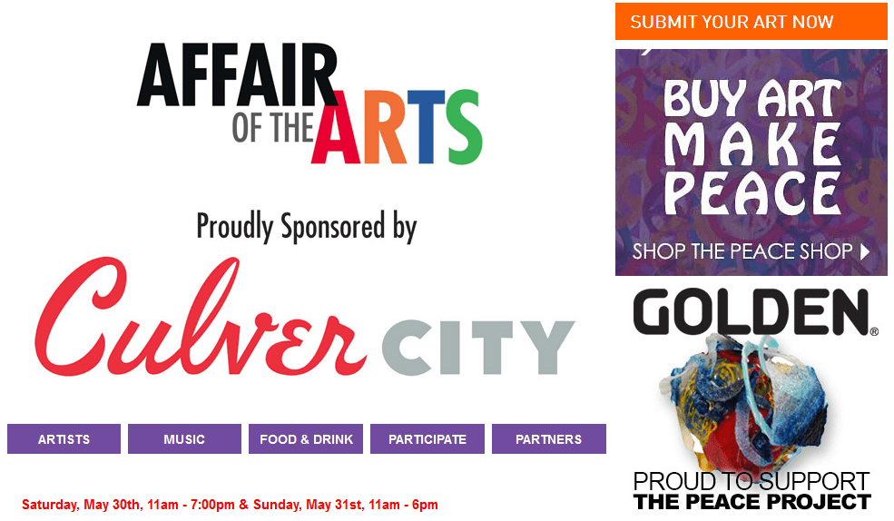 Affair of the Arts Event in Culver City, CA