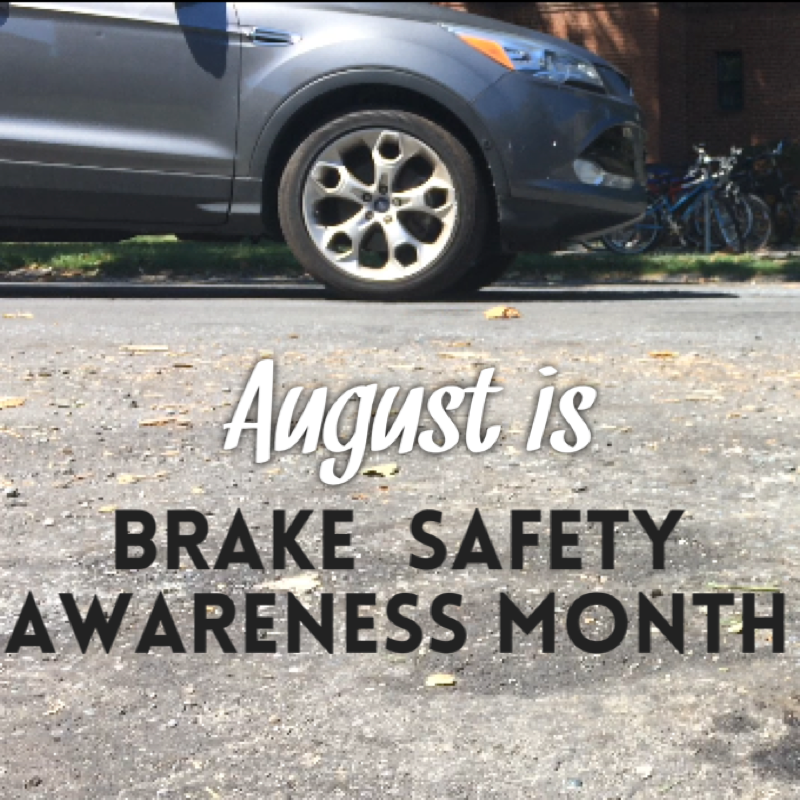 Brake Safety Awareness Month: Stop and Check Your Vehicle's Most Important Safety System